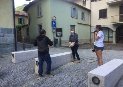Piazzetta di Villa d'Ogna, un luogo da valorizzare, primo sopraluogo