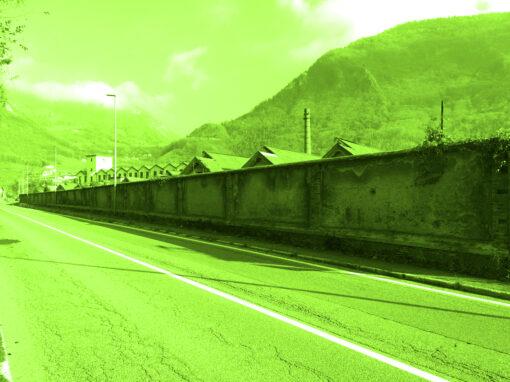 Sito n° 30 Muro di cinta Stabilimento