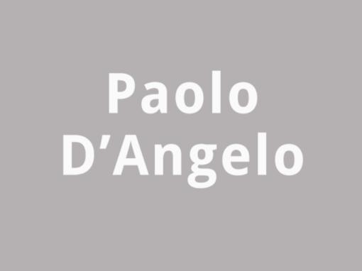 Paolo D'Angelo Inputs: (Nostalgia)