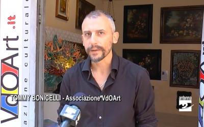Progetto VdOArtGallery-MostraMercato, Intervista al presidente Tommy Bonicelli
